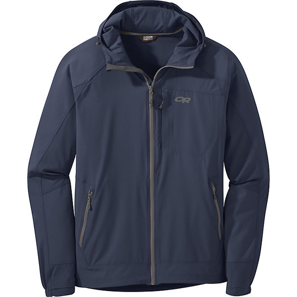 アウトドアリサーチ メンズ ジャケット&ブルゾン アウター Outdoor Research Men's Ferrosi Hooded Jacket Naval Blue