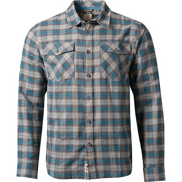 ラブ メンズ シャツ トップス Rab Men's Cascade LS Shirt Lakeland Grey