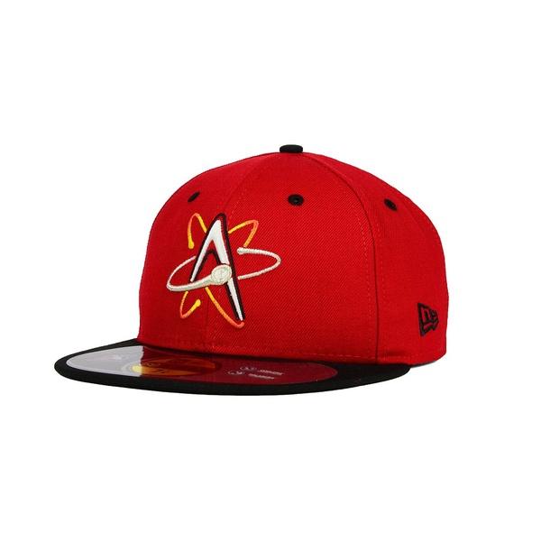 上等な ニューエラ メンズ 帽子 アクセサリー Albuquerque Isotopes 59FIFTY Cap Red/Black, 琴浦町 13cac622