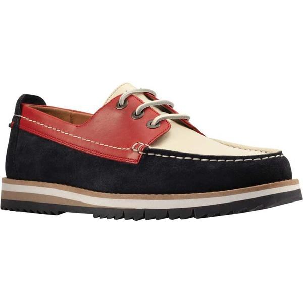 クラークス メンズ シューズ デッキシューズ Multicolor Nubuck 全商品無料サイズ交換 クラークス メンズ デッキシューズ シューズ Men's Clarks Durston Lace Moc Toe Boat Shoe Multicolor Nubuck