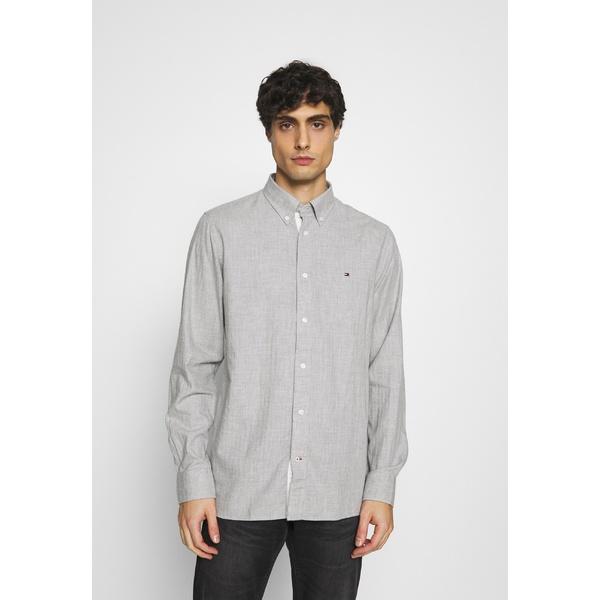 トミー 捧呈 ヒルフィガー メンズ トップス シャツ medium heather - 店舗 grey wkpz0041 Shirt 全商品無料サイズ交換