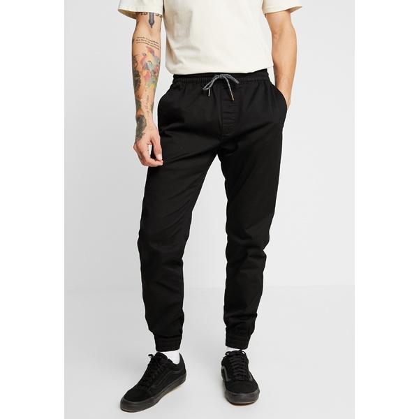 ボルコム メンズ ボトムス カジュアルパンツ black 全商品無料サイズ交換 wkpz0047 MODERN FRICKIN 格安激安 お気にいる TAPERED - Trousers