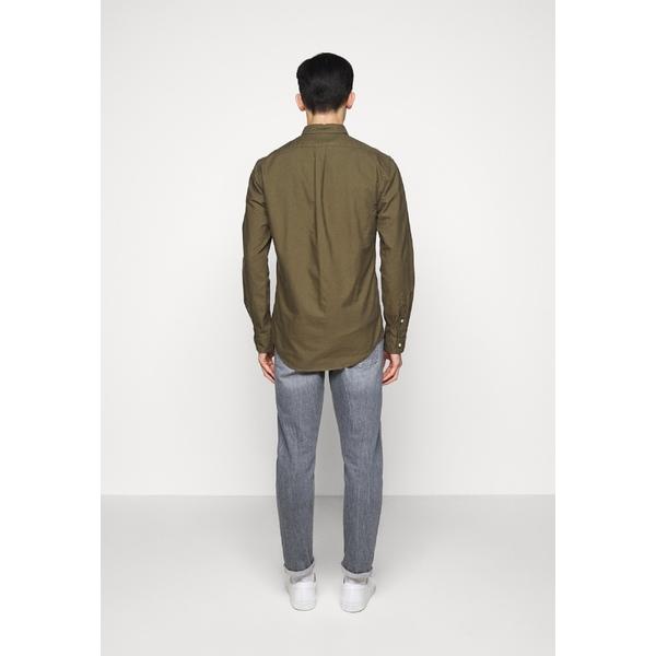 ラルフローレン メンズ トップス シャツ defender green OXFORD 公式ストア 買物 Shirt 全商品無料サイズ交換 wkpz0049 -