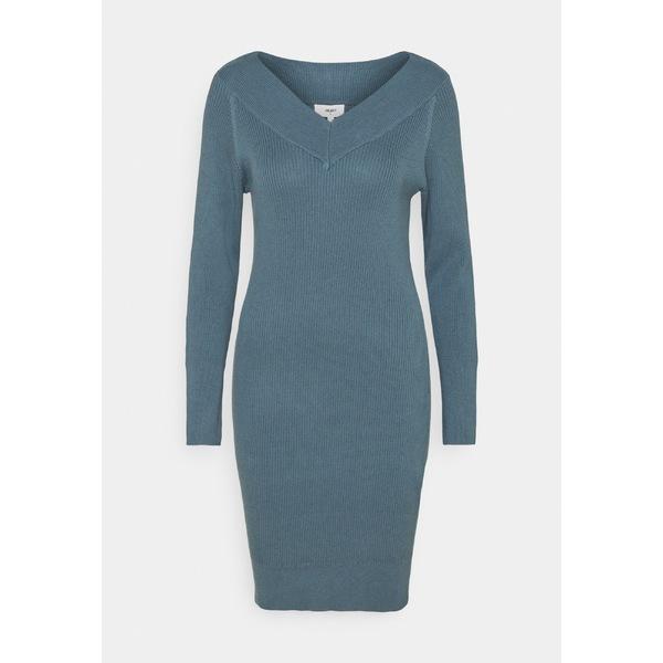 オブジェクト レディース トップス ワンピース blue mirage 送料無料 激安 お買い得 早割クーポン キ゛フト 全商品無料サイズ交換 wkvy0180 DRESS Jumper - dress OBJMANJA