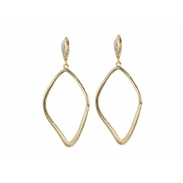 アレクシス ビッター レディース ピアス&イヤリング アクセサリー Leverback with Sculpted Aura Tear Earrings 10K Gold