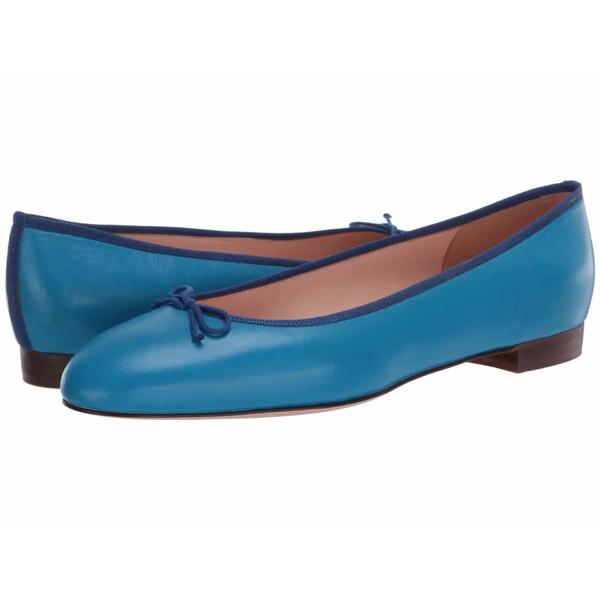 ジェイクルー レディース サンダル シューズ Leather Uptown Classic Ballet Prussian Blue