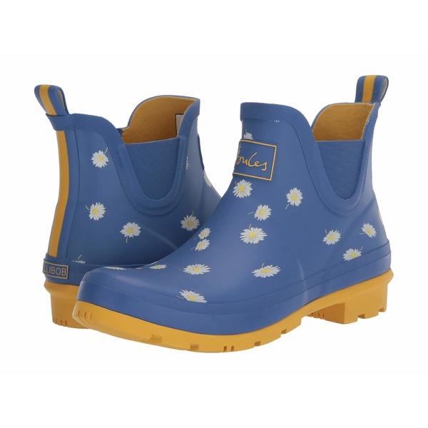 ジュールズ レディース ブーツ&レインブーツ シューズ Wellibob Chelsea Boot Blue Daisy