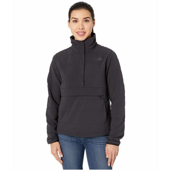 ノースフェイス レディース コート アウター Mountain Sweatshirt Pullover Anorak 3.0 TNF Black