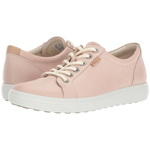 エコー レディース スニーカー シューズ Soft 7 Sneaker Rose Dust Cow Leather