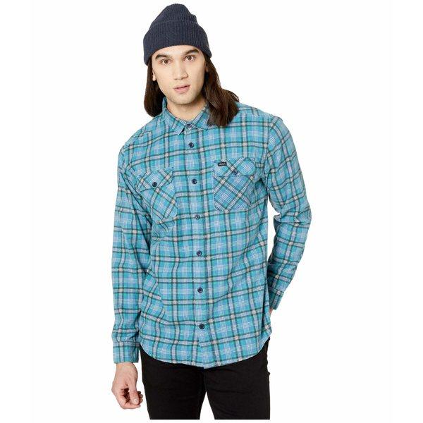 ルーカ メンズ シャツ トップス Panhandle Long Sleeve Flannel Nautical Blue