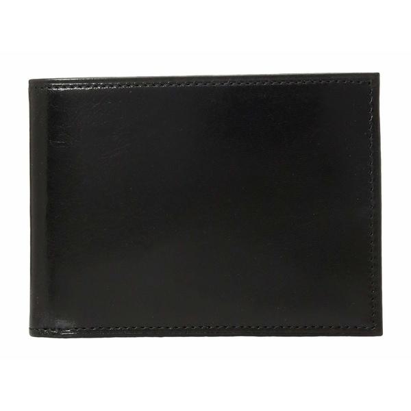 ボスカ メンズ 財布 アクセサリー Old Leather Collection - Credit Wallet w/ ID Passcase Black Leather