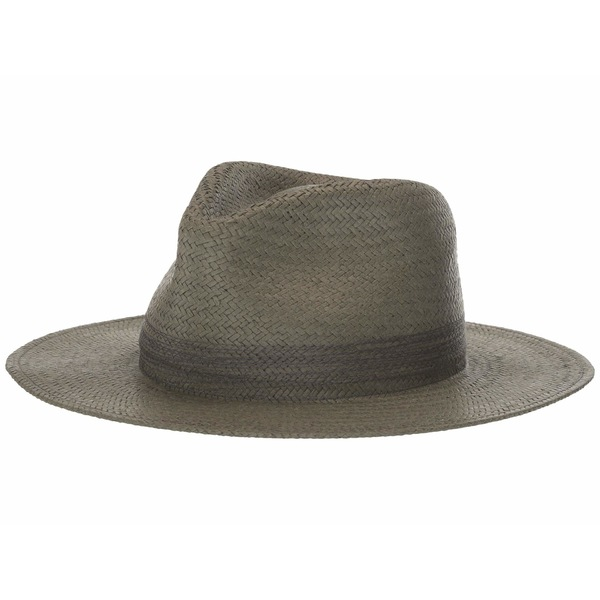 ラグアンドボーン レディース 帽子 アクセサリー Packable Straw Fedora Army Green