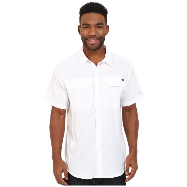 コロンビア メンズ シャツ トップス Silver Ridge Lite Short Sleeve Shirt White