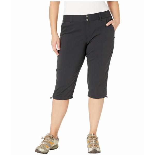 コロンビア レディース カジュアルパンツ ボトムス Plus Size Saturday Trail II Knee Pant Black