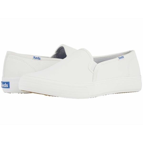 ケッズ レディース シューズ スニーカー 買い物 White 全商品無料サイズ交換 Decker 2020秋冬新作 Double Leather