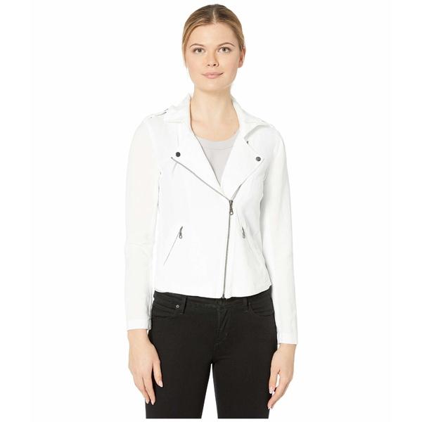ニックプラスゾーイ レディース コート アウター Linen Biker Jacket Paper White