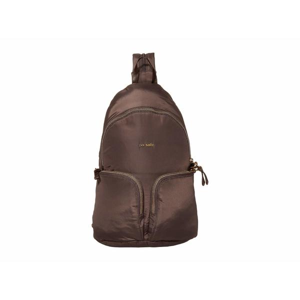パックセーフ メンズ バックパック・リュックサック バッグ Stylesafe Anti-Theft Sling Backpack Mocha