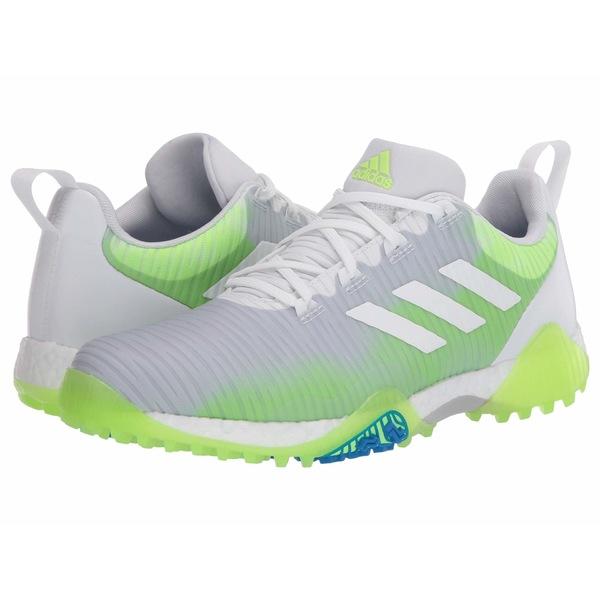 アディダス メンズ スニーカー シューズ Codechaos Footwear White/Core Black/Signal Green