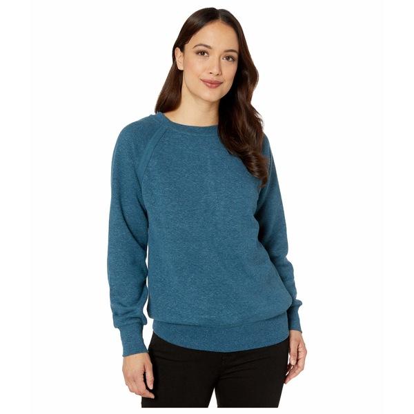 プラーナ レディース パーカー・スウェットシャツ アウター Cozy Up Sweatshirt Atlantic Heather