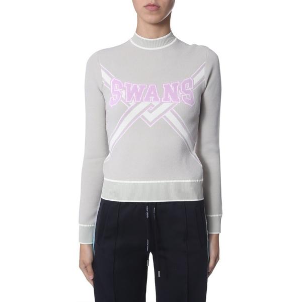 Logo Knitted Sweatshirt オフホワイト ニット&セーター Off-White レディース - アウター