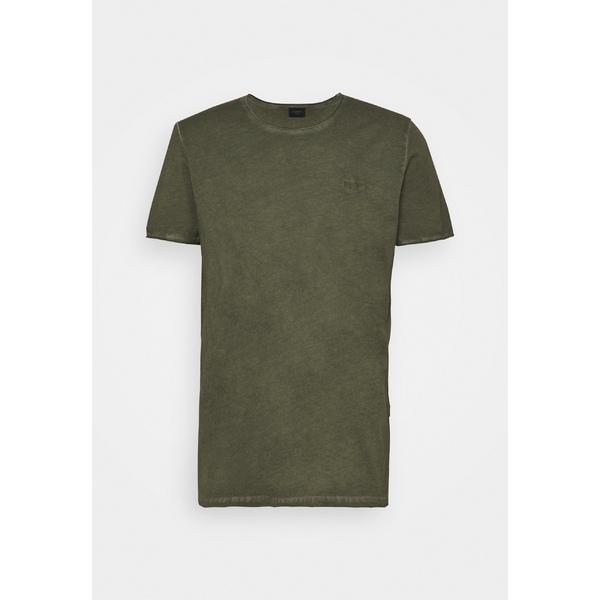ジョープ 2020 ジーンズ メンズ トップス Tシャツ 本日限定 dark green - Basic 全商品無料サイズ交換 wmsf01c9 CLARK T-shirt