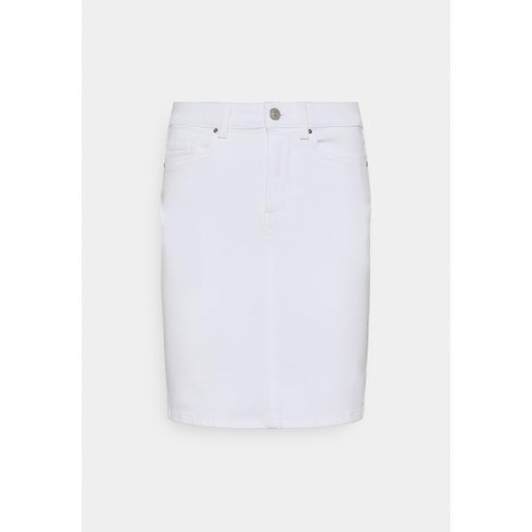 ピーシーズ レディース 送料込 ボトムス スカート bright white 全商品無料サイズ交換 ブランド品 - SKIRT Denim wnft0269 skirt PCLILI