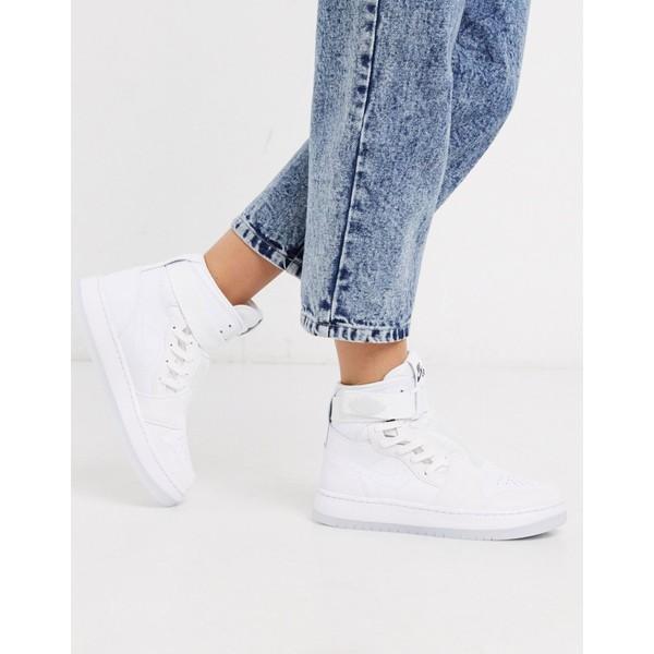 ジョーダン レディース スニーカー シューズ Nike Air Jordan 1 Nova sneakers in white White