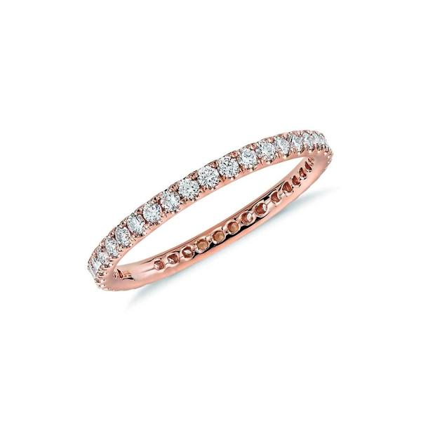 格安新品  スージレビアン レディース リング アクセサリー 14K Rose Gold Diamond Eternity Band Ring - 0.50ctw ROSE, かんてい局錦三丁目栄新栄店 b3856352