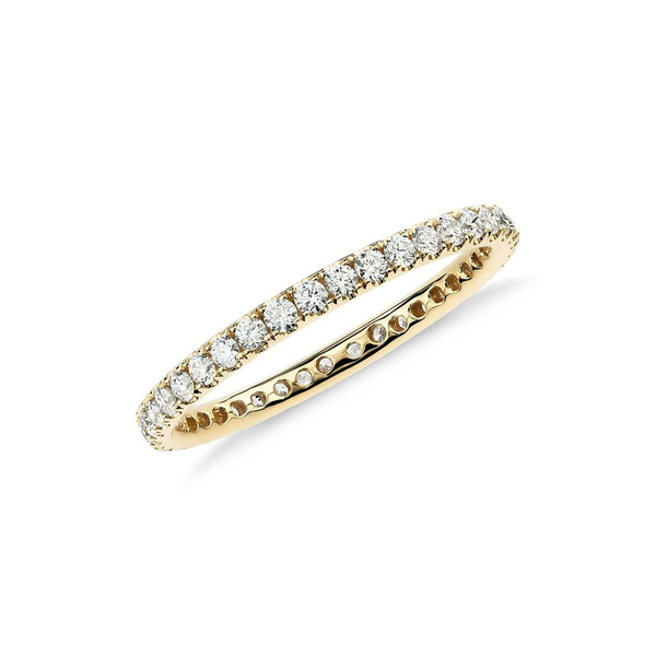大洲市 スージレビアン レディース リング アクセサリー 14K Yellow Gold Diamond Eternity Band Ring - 0.50ctw GOLD, FZONEスポーツ 4ad77425
