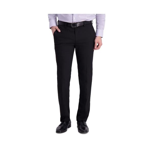 ルイス 高級品 ラファエル メンズ ボトムス カジュアルパンツ Black 在庫処分 全商品無料サイズ交換 Comfort Slim Stretch Pant Flat Dress Front Fit Sharkskin