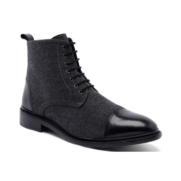 アンソニー ヴィア OUTLET SALE メンズ シューズ ブーツ レインブーツ Gray 全商品無料サイズ交換 Goodyear Boots 6