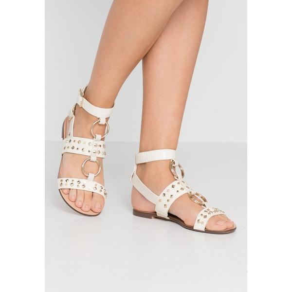 返品交換不可 人気海外一番 リバーアイランド レディース シューズ サンダル white - 全商品無料サイズ交換 Sandals woft0206