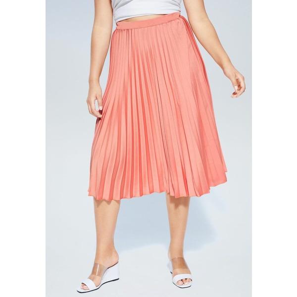ビオレタ バイ マンゴ レディース ボトムス スカート melocotn 全商品無料サイズ交換 GEORGINA wpac013e スピード対応 全国送料無料 Pleated 定番キャンバス - skirt