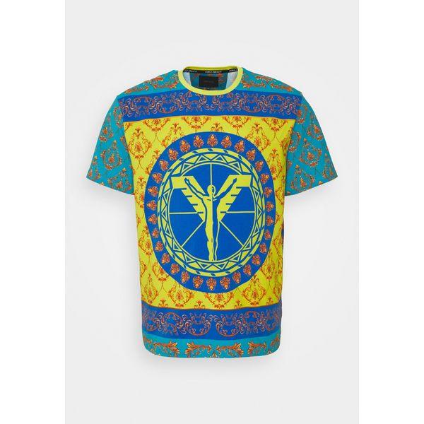 カルロ コルッチ メンズ 期間限定送料無料 トップス Tシャツ petrol 全商品無料サイズ交換 店舗 BIG COLOURS - wpac0141 T-shirt Print