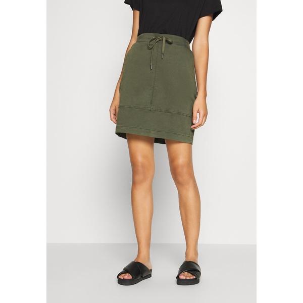 カンマ 低価格化 カジュアル アイデンティティー レディース ボトムス スカート - green skirt wpac0142 全商品無料サイズ交換 Mini 超特価
