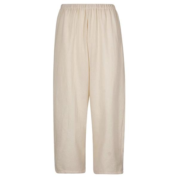 アープントビー レディース カジュアルパンツ ボトムス A Punto B Elasticated Cropped Trousers Butter