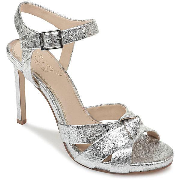 ジュウェルダグレイミシュカ レディース サンダル シューズ Jewel Badgley Mischka Richmond Sandal (Women) Silver Textured Metallic