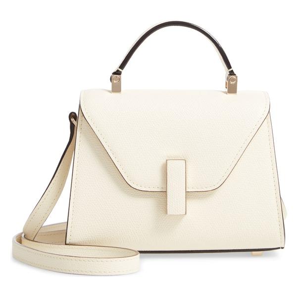 ヴァレクストラ レディース ハンドバッグ バッグ Valextra Iside Micro Top Handle Bag White