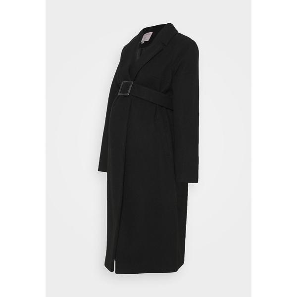 ドロシー パーキンス 春の新作シューズ満載 レディース アウター 高品質 コート black 全商品無料サイズ交換 WRAP coat COAT - BELTED wpkj0232 Classic