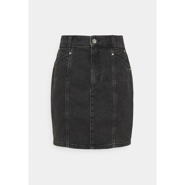 お得なキャンペーンを実施中 オンリー トール レディース 超激安 ボトムス スカート black 全商品無料サイズ交換 ONLAVALON SKIRT LIFE - wpkj0234 Mini skirt STUD