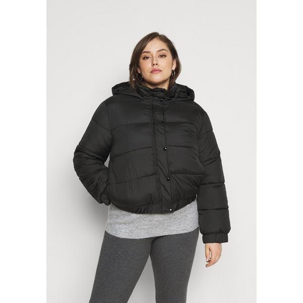 ミスガイデッド レディース アウター ジャケット 高級な ブルゾン black 全商品無料サイズ交換 HOODED jacket Winter wpkj0236 日時指定 PUFFER JACKET -