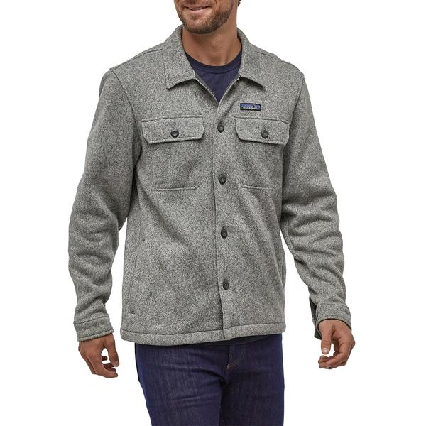 パタゴニア メンズ シャツ トップス Patagonia Better Sweater Shirt Jacket Stonewash