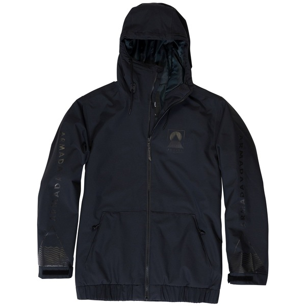 アルマダ メンズ ジャケット&ブルゾン アウター Armada Baxter Insulated Jacket Black