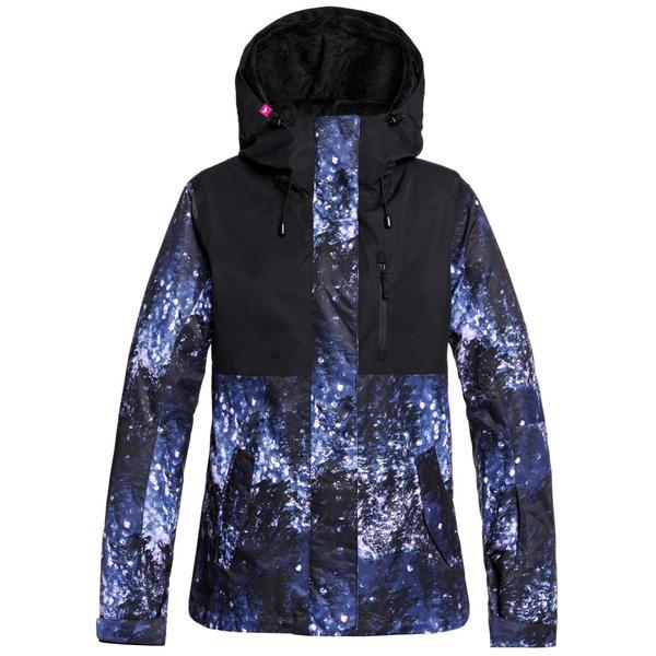 ロキシー レディース ジャケット&ブルゾン アウター Roxy Jetty 3-in-1 Jacket - Women's Medieval Blue Sparkles