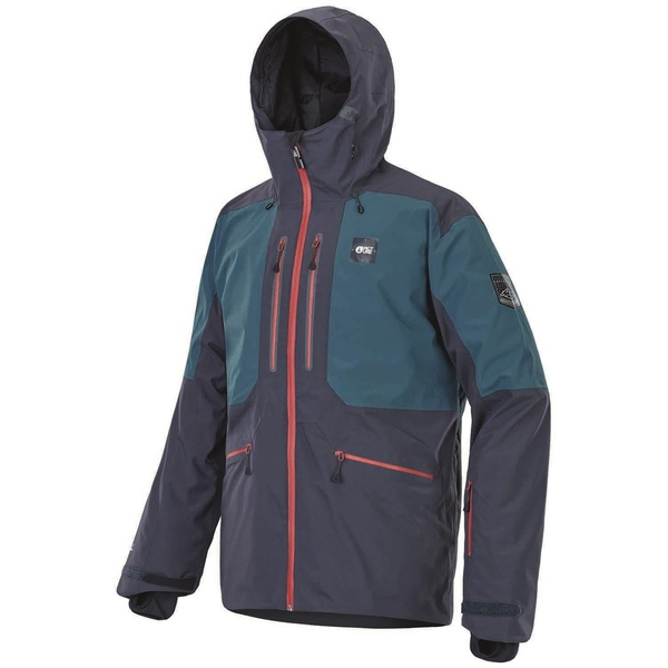 ピクニックオーガニック メンズ ジャケット&ブルゾン アウター Picture Organic Naikoon Jacket Dark Blue