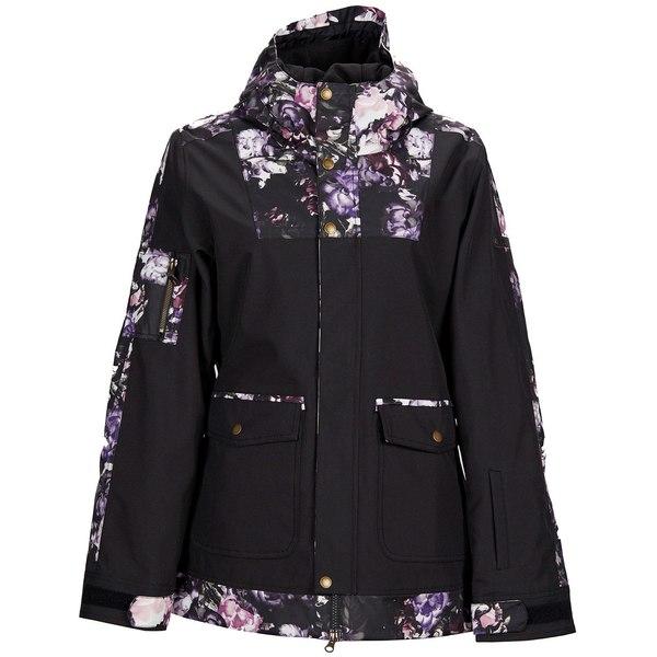 ボンファイヤー レディース ジャケット&ブルゾン アウター Bonfire Topaz Jacket - Women's Black/Flora