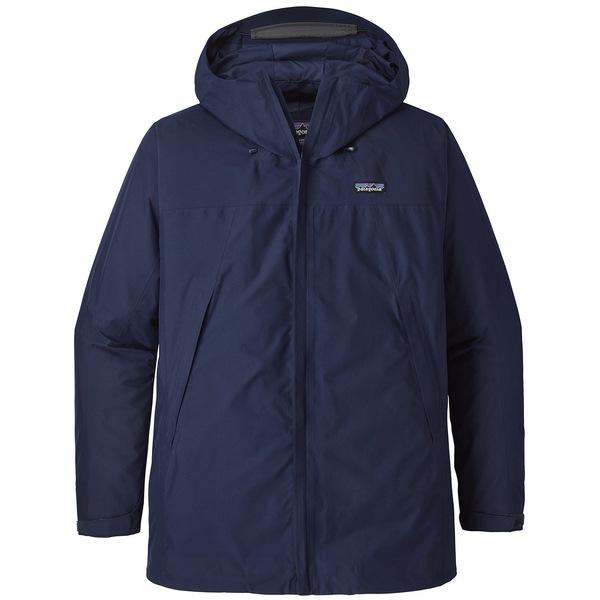 パタゴニア メンズ ジャケット&ブルゾン アウター Patagonia Departer GORE-TEX Jacket Classic Navy