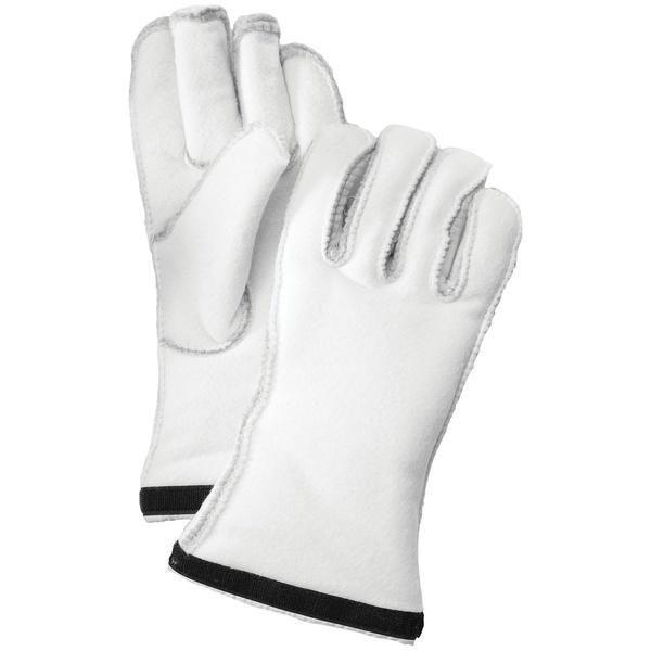 ヘストラ メンズ 手袋 アクセサリー Hestra Heli Ski Glove Liners Off White