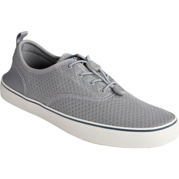 トップサイダー メンズ ブーツ&レインブーツ シューズ Flex Deck CVO Ultra Sneaker Grey Mesh/Neoprene