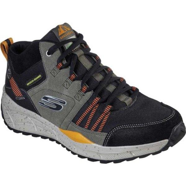 スケッチャーズ メンズ ブーツ&レインブーツ シューズ Relaxed Fit Equalizer 4.0 Trail Break Set Boot Olive/Black